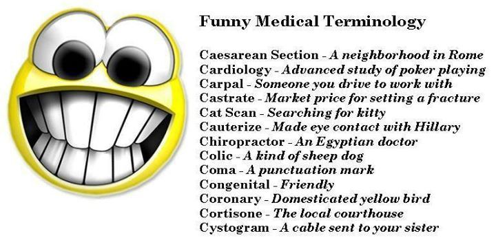 Medical Terminology | Medical Humor | Medical coding