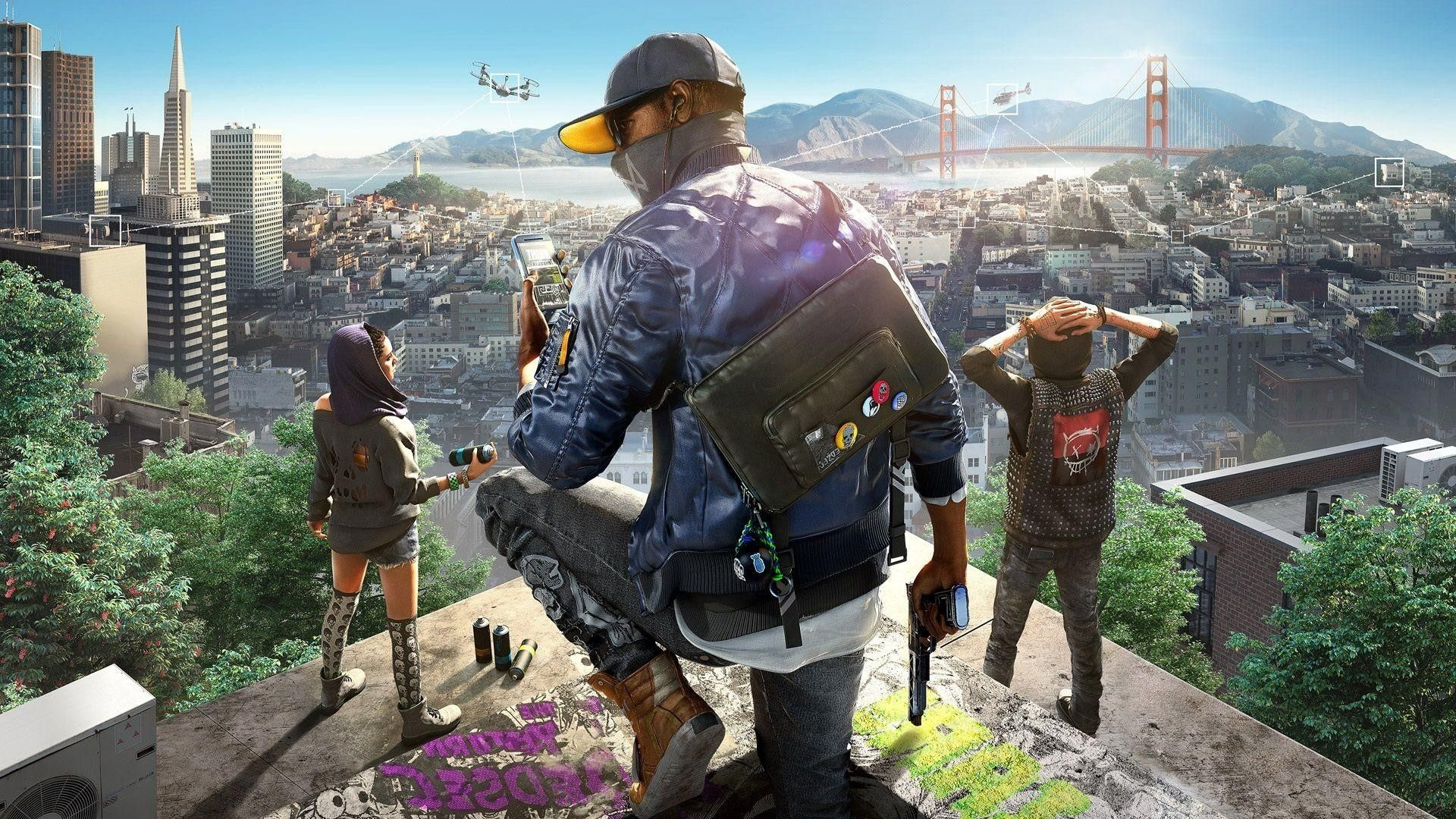 Awesome Watch Dogs 2 Wallpaper For Android
