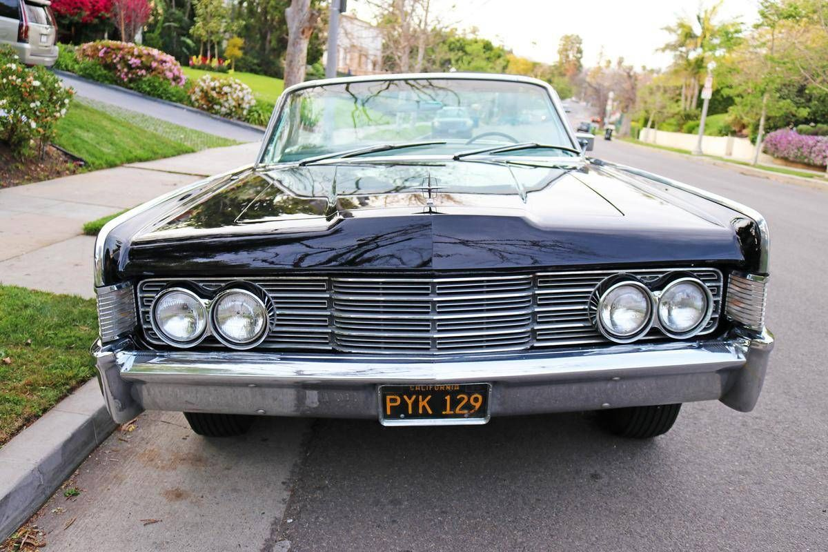 1965 Lincoln Continental for sale 2099518 Hemmings