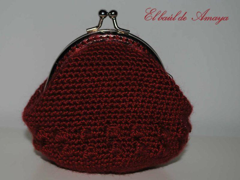 Monedero de ganchillo con boquilla | Mon Petit Crochet | Pinterest ...