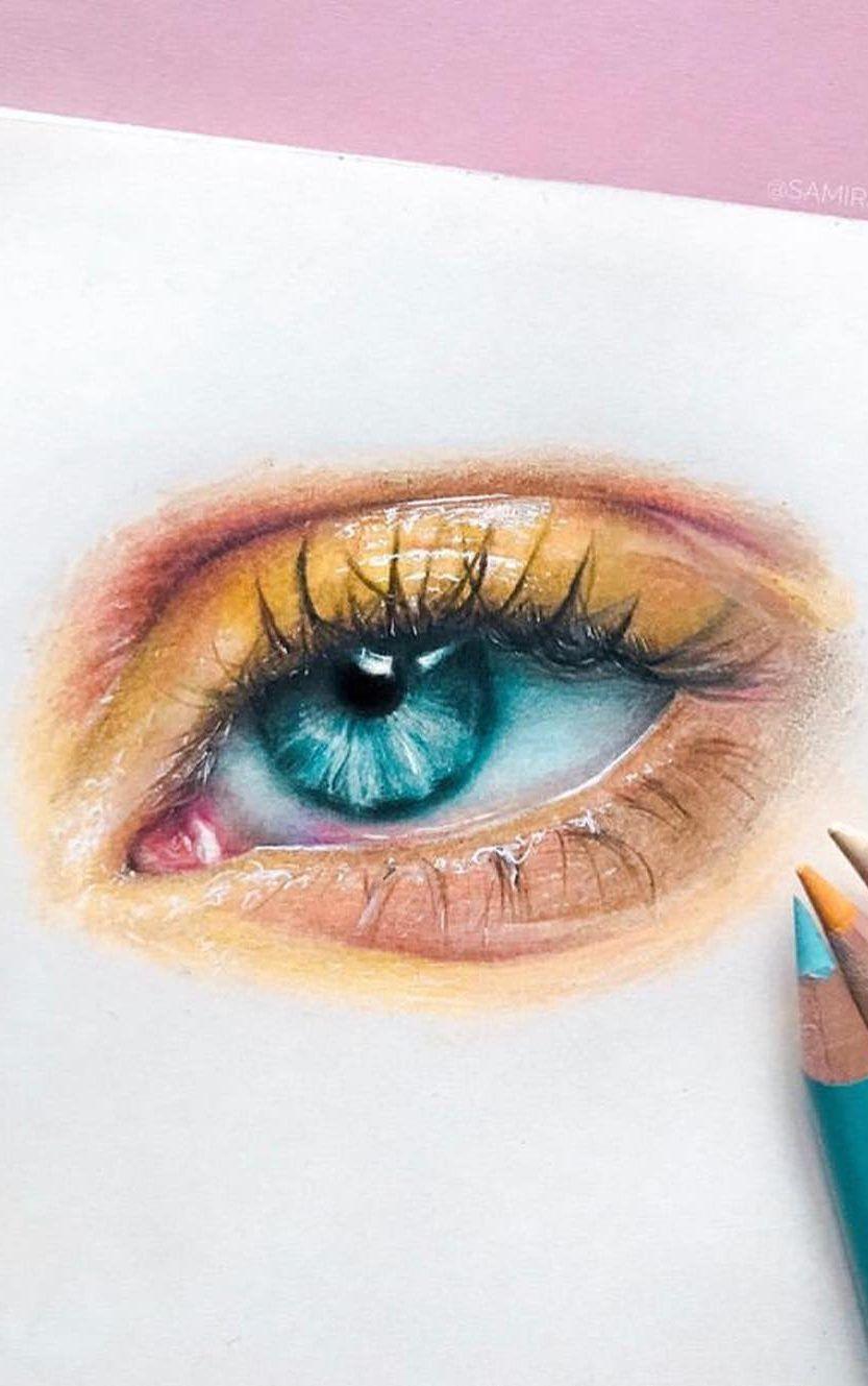 36 fantastische Augenzeichnung Bilder! Wie zeichnet man ein realistisches Auge! Teil 20, #au...