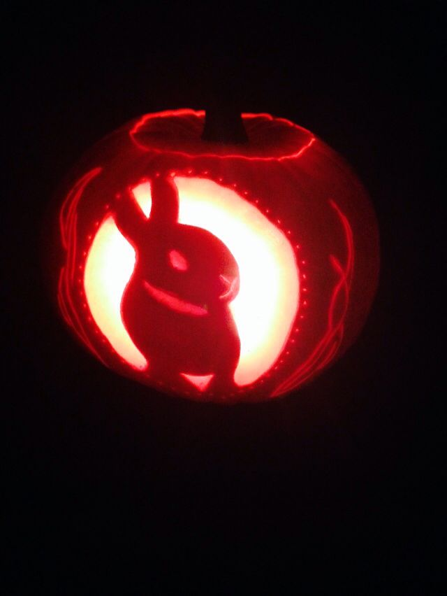 Rabbit Pumpkin Carving Crafts Pumpkin Carving Halloween