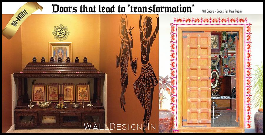 article wd doors for puja room | cowboys | pinterest | indian