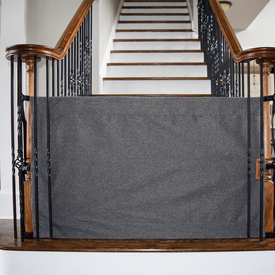 Pin By Matilda Richar On Baby Gate In 2019 Banister Baby