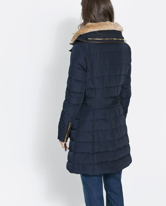 Mid Length Puffer Anorak From Zara Fashion I Could