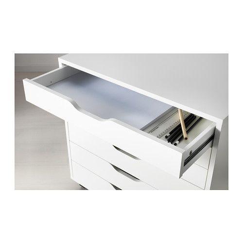 alex caisson tiroirs sur roulettes gris caisson roulette et tiroir. Black Bedroom Furniture Sets. Home Design Ideas