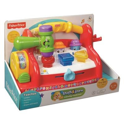 Image For Fisher Price Laugh Amp Learn Learning Tool Bench