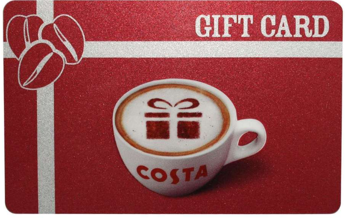 Costa Gift Card Costa Coffee Gift Cards Costa Egifting