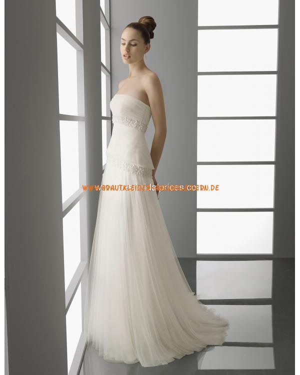 2013 Elegantes Brautkleid im Kolumnestil