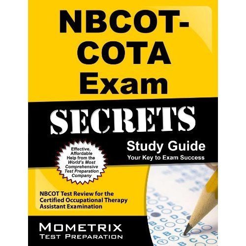 Nbcot Cota Exam Secrets Study Guide Nbcot Test Review For The