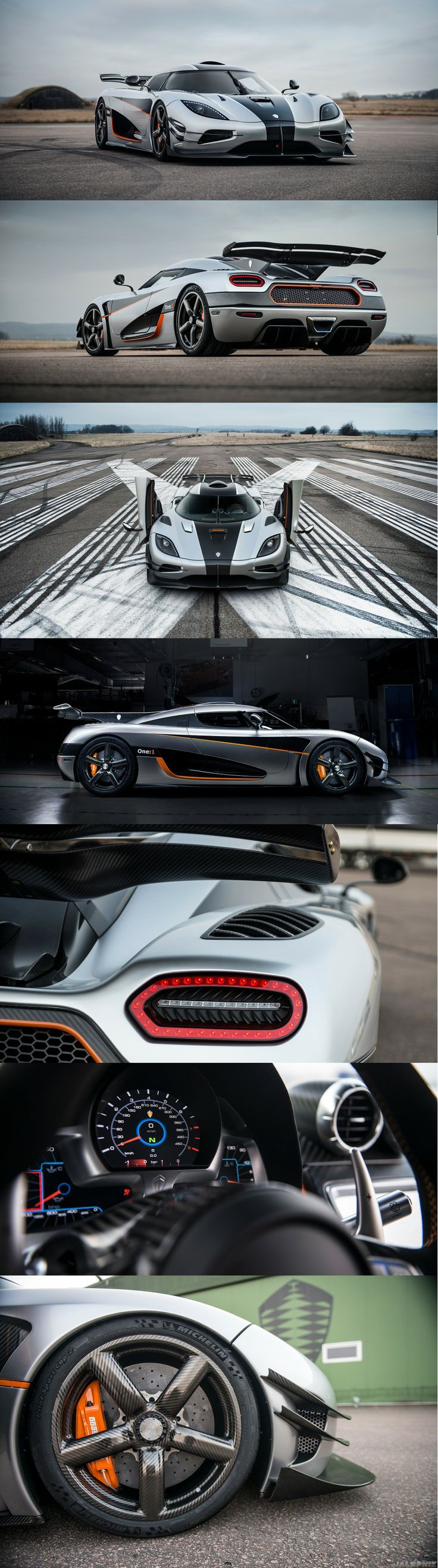 Koenigsegg One:1. Just so everyone knows, this can go from 0-248 mph in 20 seconds. I'll let that sink in...