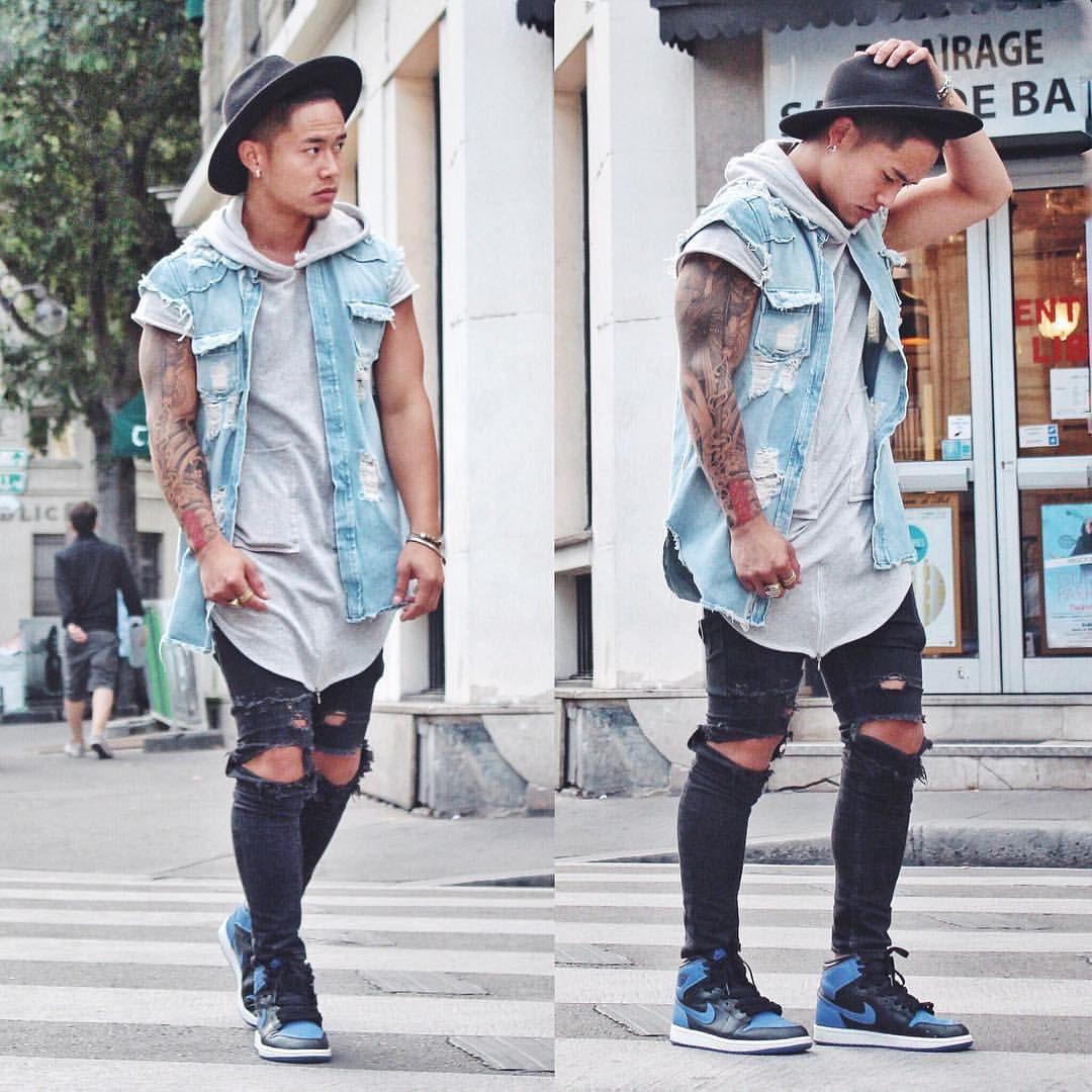 Blue Details Champaris75 Champaris75 Champaris Men Outfits Pinterest Street Wear