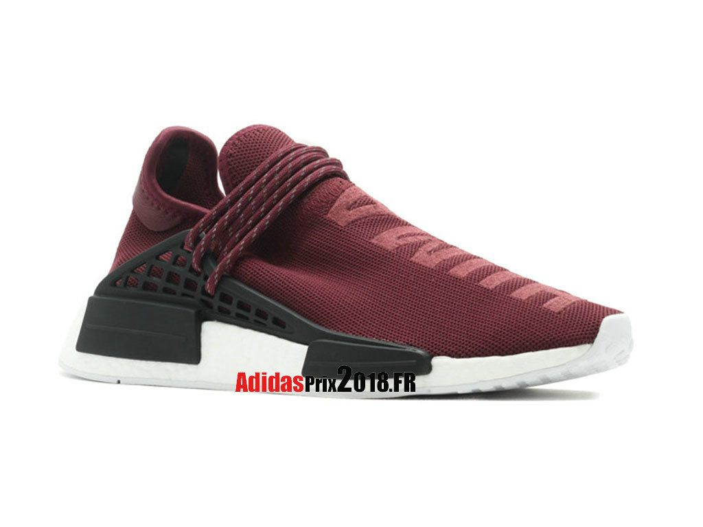 1010f9bbfbb Adidas PW Human Race NMD Vin Rouge Noir BB0617 Chaussures Adidas Sportswear  Prix Pour Homme