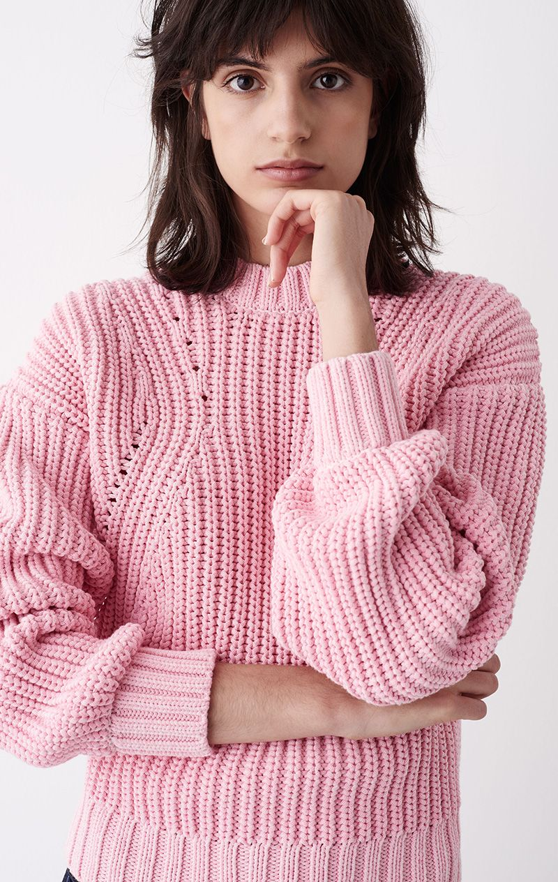 Bubblegum pink sweater from Rodebjer | My Swedish Favourites ...