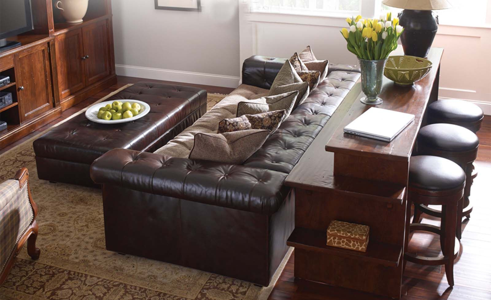 Stickley and Craftsman Leather present the beautiful Chicago ...