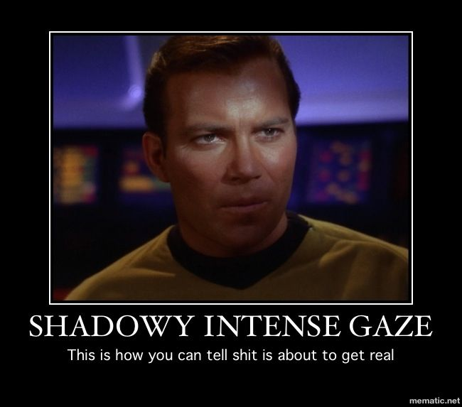 Don't mess with Captain Kirk Star trek original series