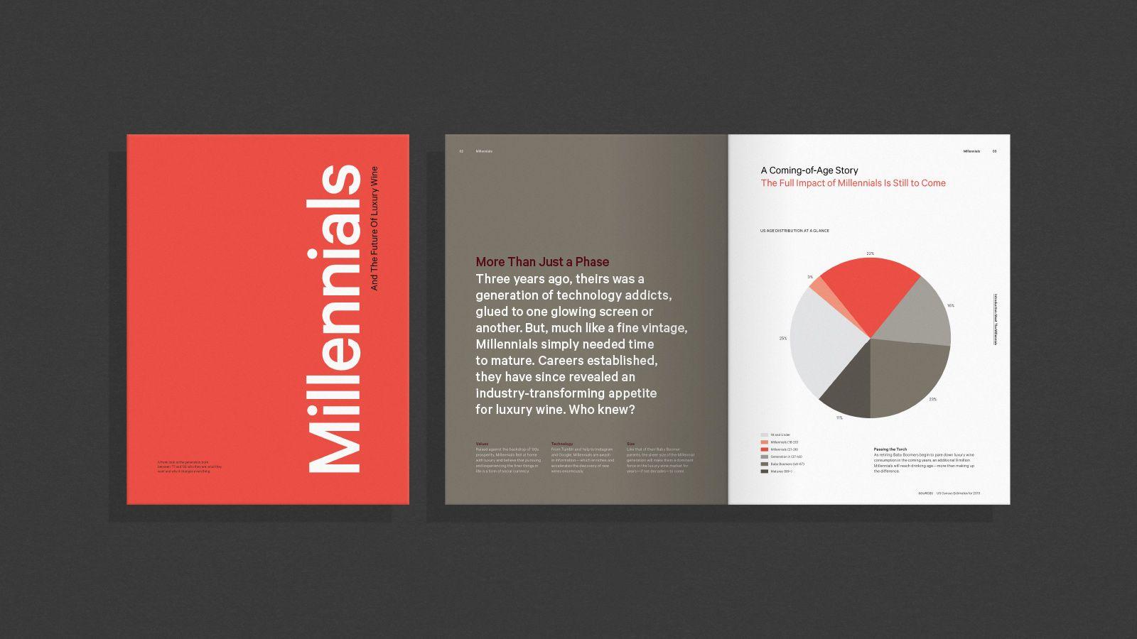 Terlato Wines Editorial Design Layout Wines Brochure Design