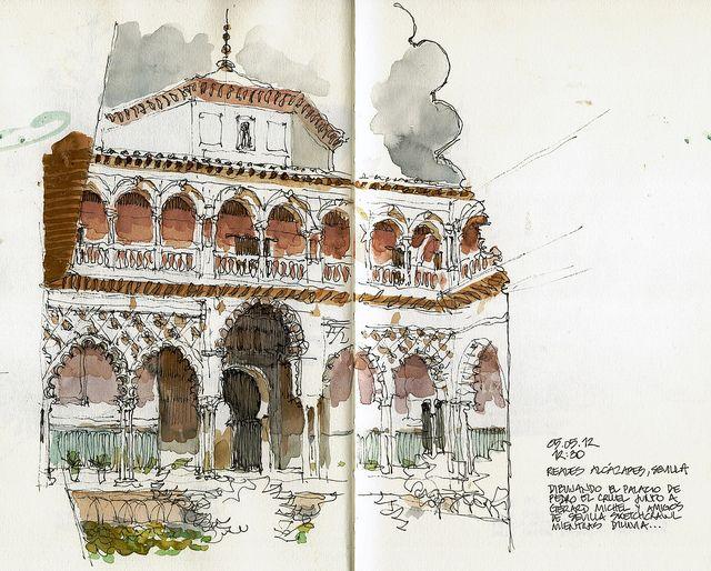 Sevilla, Reales Alcázares | Flickr: Intercambio de fotos