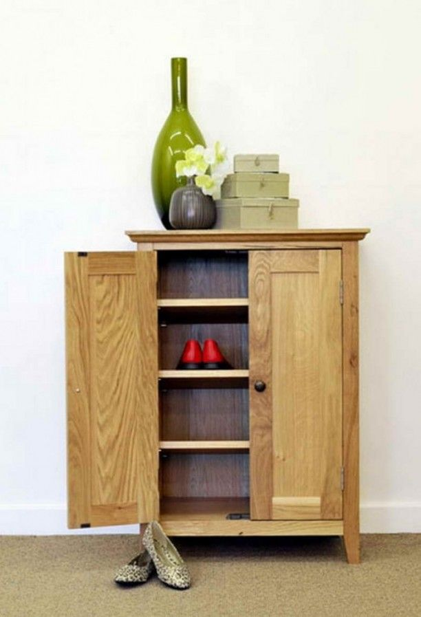 shoe cabinets with doors for simple shoes storage solution on shoe rack wooden with door id=97708