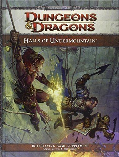 Adventure Modules 44113 Dungeons And Dragons Halls Of Undermountain New 4e 4th Forgotten Realms Adandd Buy It Now Onl Dungeons And Dragons Dungeon Dragon