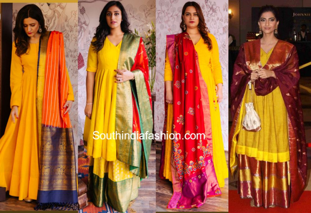 7 Stunning Traditional Anarkali Suit Designs By Gaurang Shah Anarkali Suits Kurti Designs Party Wear Clothes For Women
