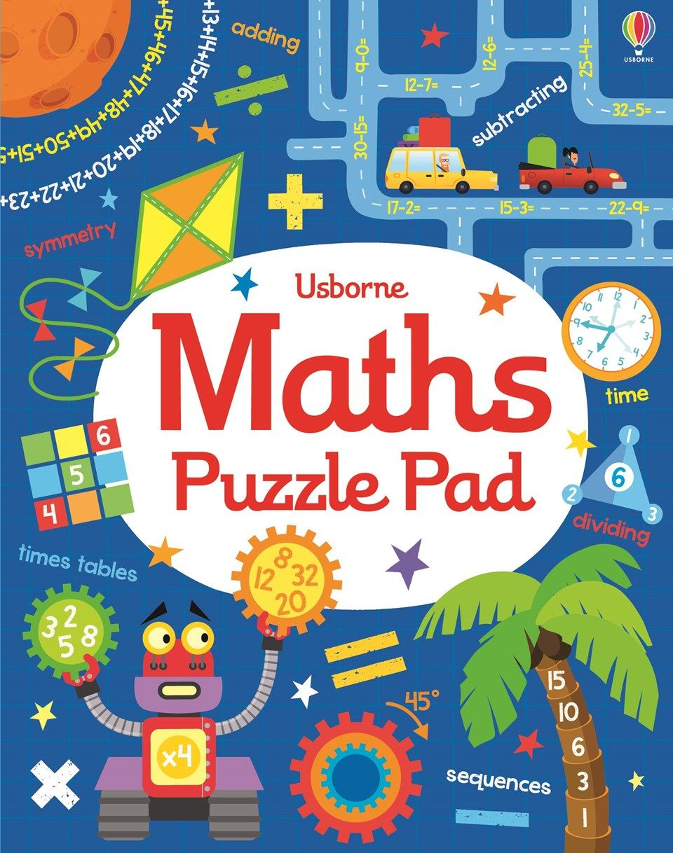 """Find out more about """"Maths puzzle pad"""", write a review or buy online ..."""