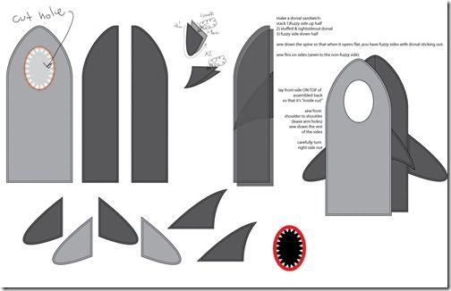 Ideas Para Disfraz Casero De Tiburón Para Niño Disfraces De Tiburón Como Hacer Disfraces Tiburones Para Niños