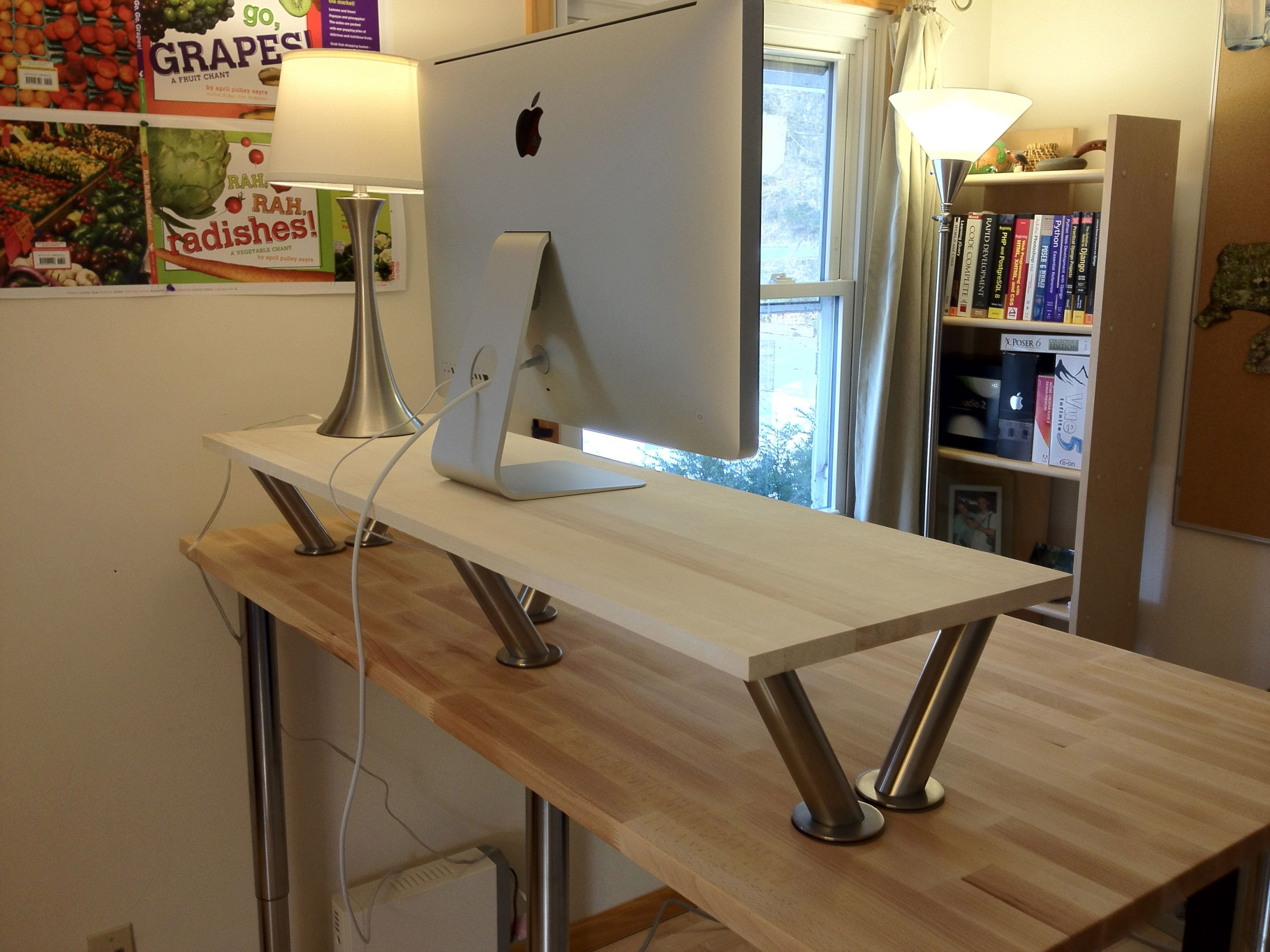 Make A Standing Desk   Best Home Office Desks Check More At Http://