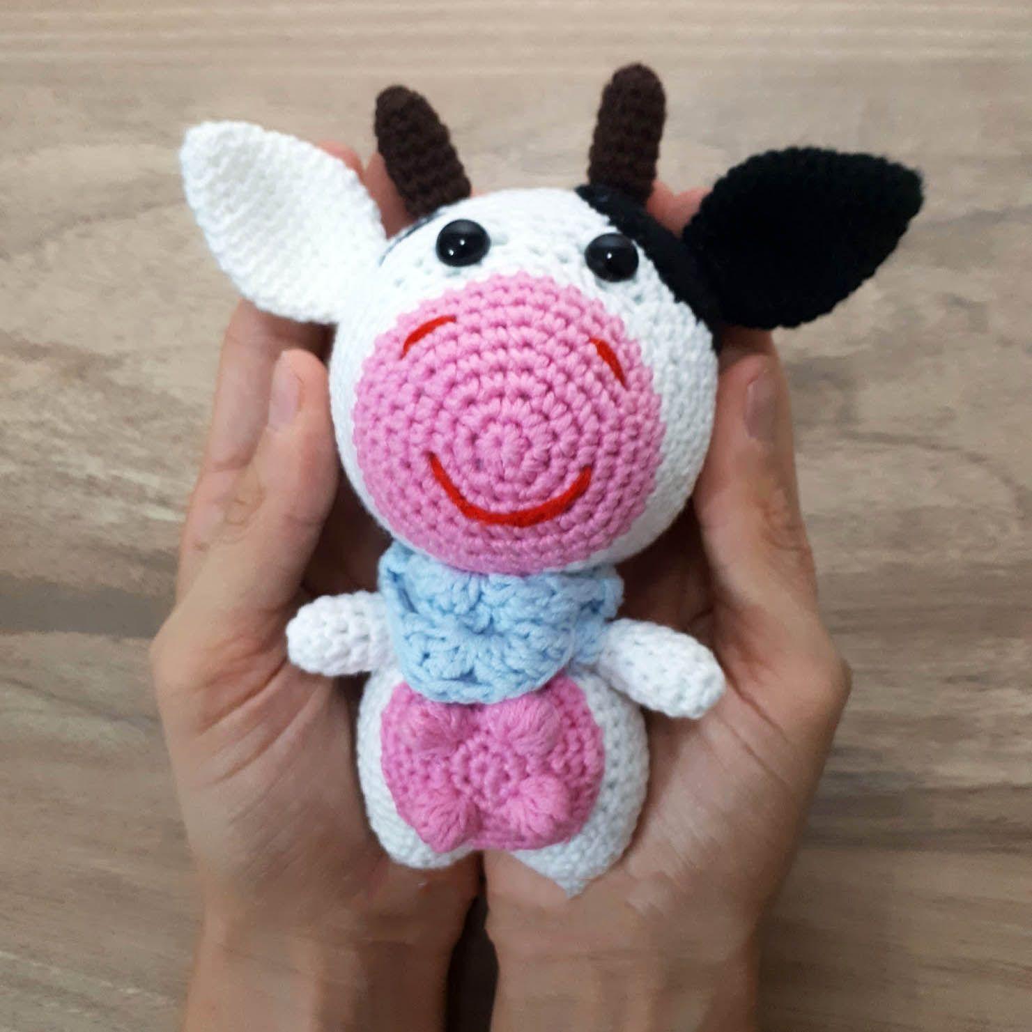 Crochet Cow Pattern New Decorating Ideas