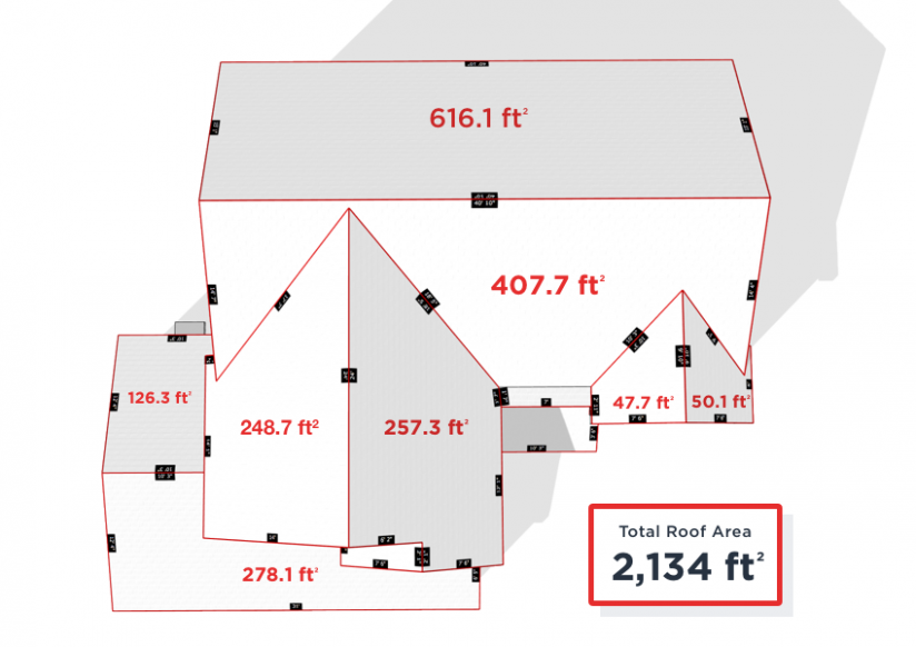 The Story Of How To Measure A Hip Roof From The Ground Has Just Gone Viral How To Measure Roofing Square Roofing Calculator Roof Shingles