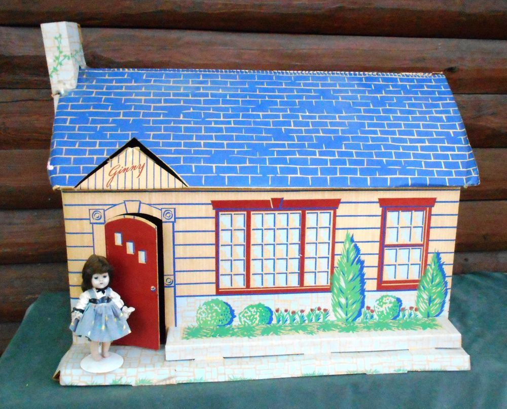 Vintage 1956 Vogue Ginny Doll's House Muffie, Ginger too