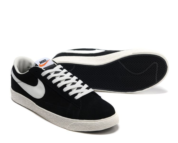Chaussures Nike Blazer Low noires Casual unisexe wSMhO52