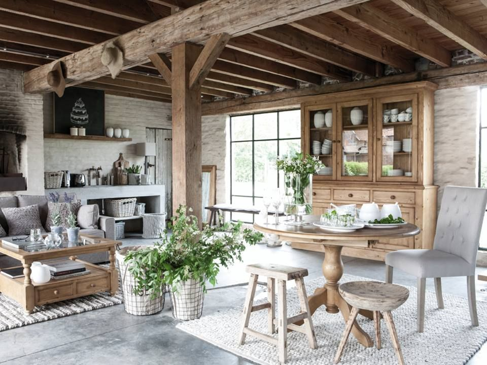 D co cosy maison de campagne int rieurs de charme et for Decoration maison style campagne chic