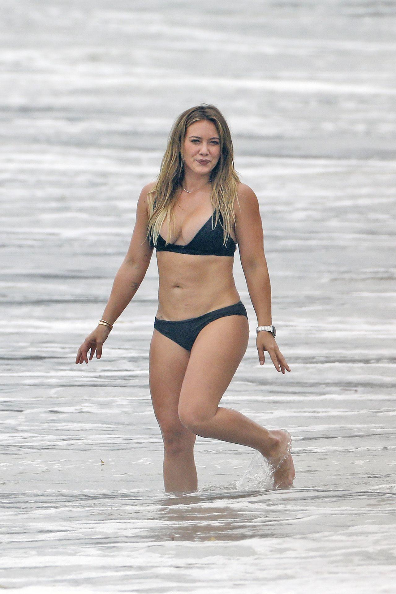 Hilary Duff Spandex Butt Cumshot