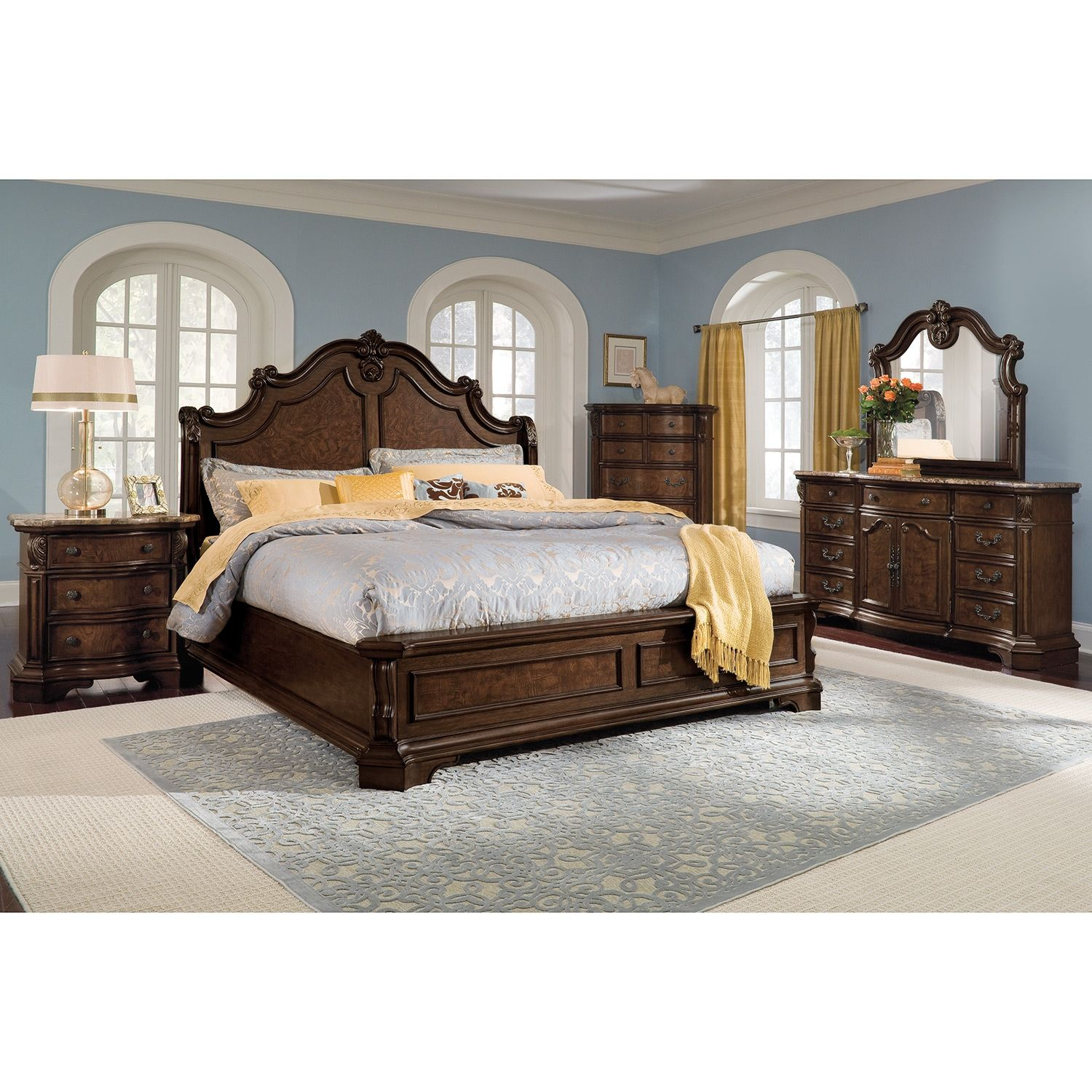 Dramatic Beautyimagine The Grandeur And Charm Of Yesteryear's Gorgeous Value City Furniture Bedroom Sets Decorating Design