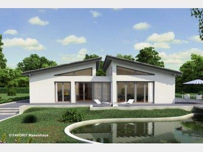 Hausansicht chalet 135 flats pinterest haus for Chalet modern bauen
