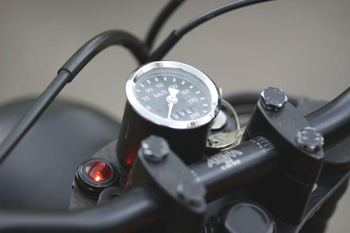 Bmw R80 Cafe Racer Tracker Umbau Tacho Bmw Cafe Racer Bmw Bmw