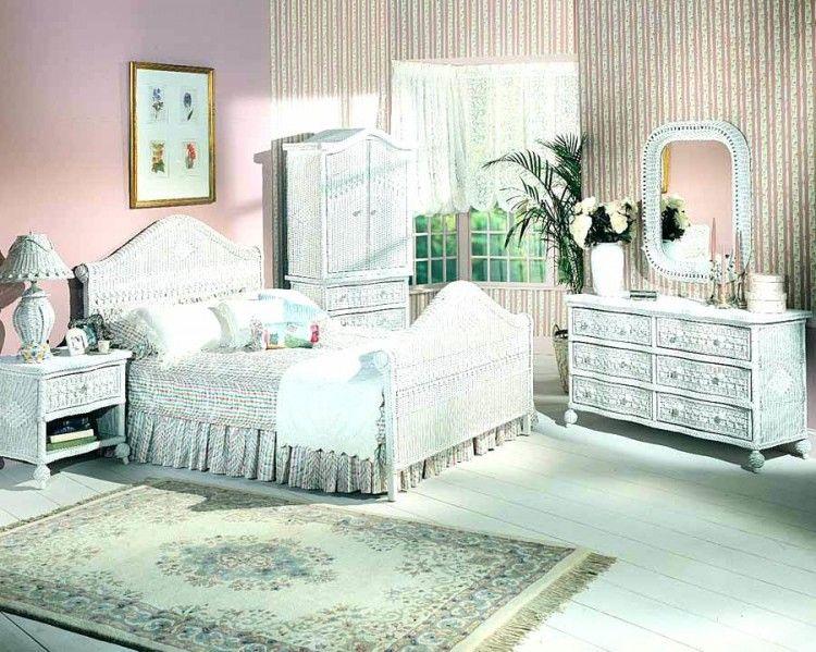 White Wicker Bedroom Furniture Uk Wicker bedroom