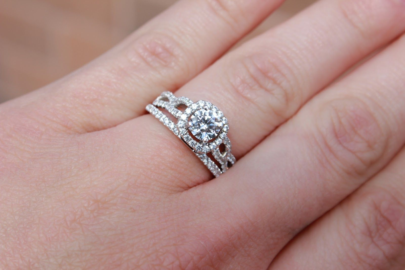 Engagement Ring And Wedding Band Soldered Together 30 | Engagement ...