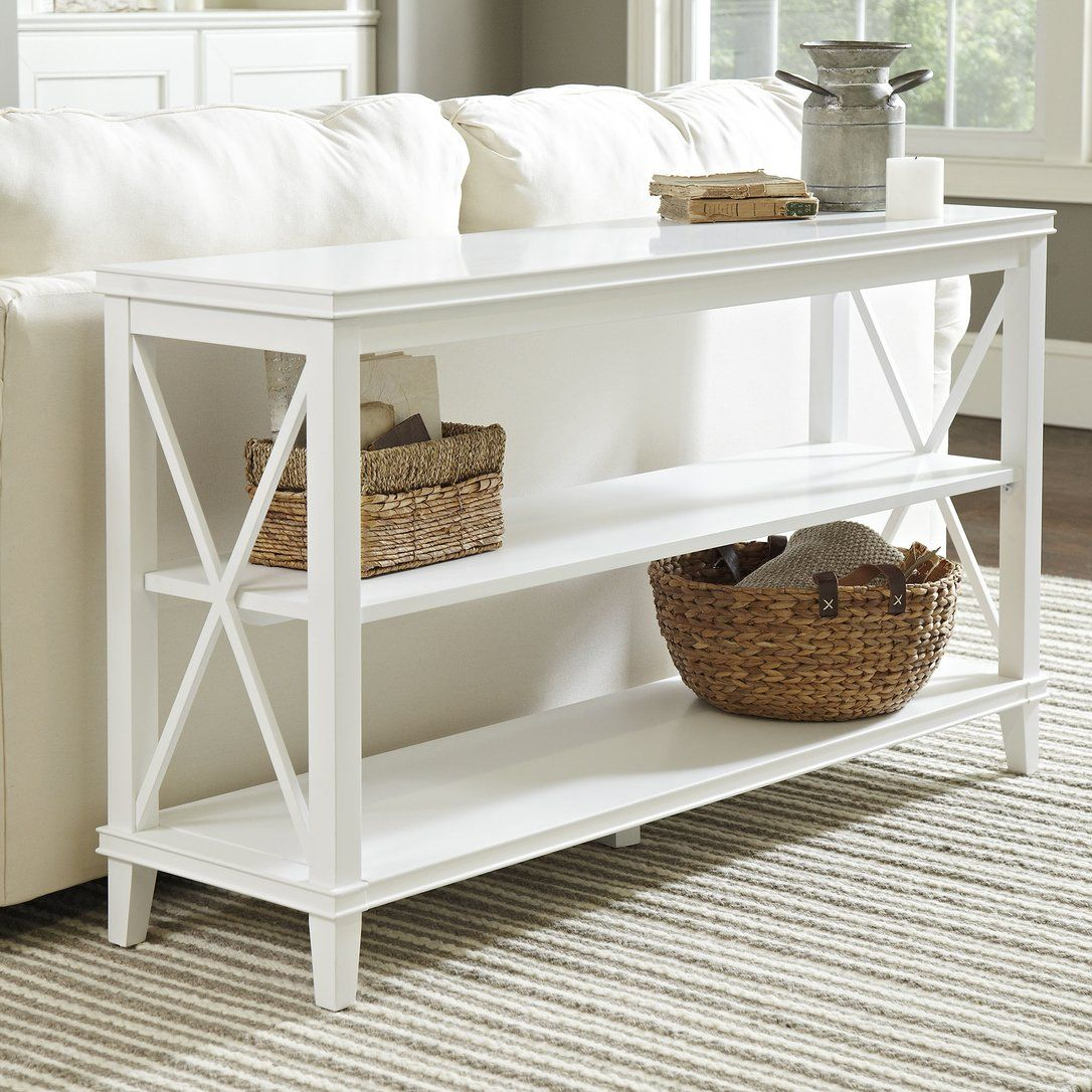 Larksmill Console Table White Console Table White Sofa Table Console Table