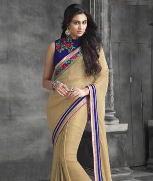 Saree With Unstitched Blouse   I found an amazing deal at fashionandyou.com and I bet you'll love it too. Check it out!