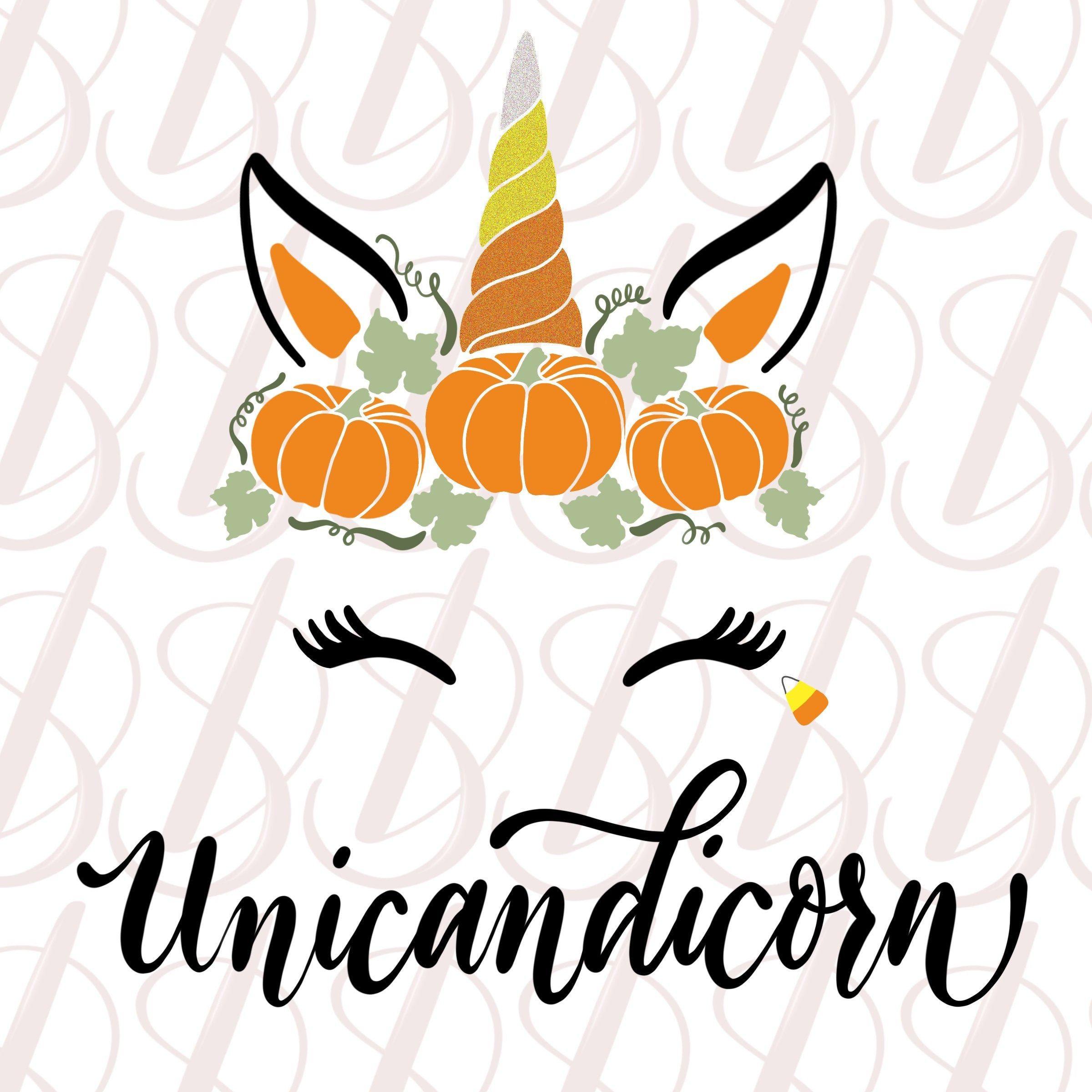 JPEG SVG acorn leaf fall Fall Unicorn Cut File PNG pumpkin thanksgiving Cricut brown Vector Sihouette Cameo November