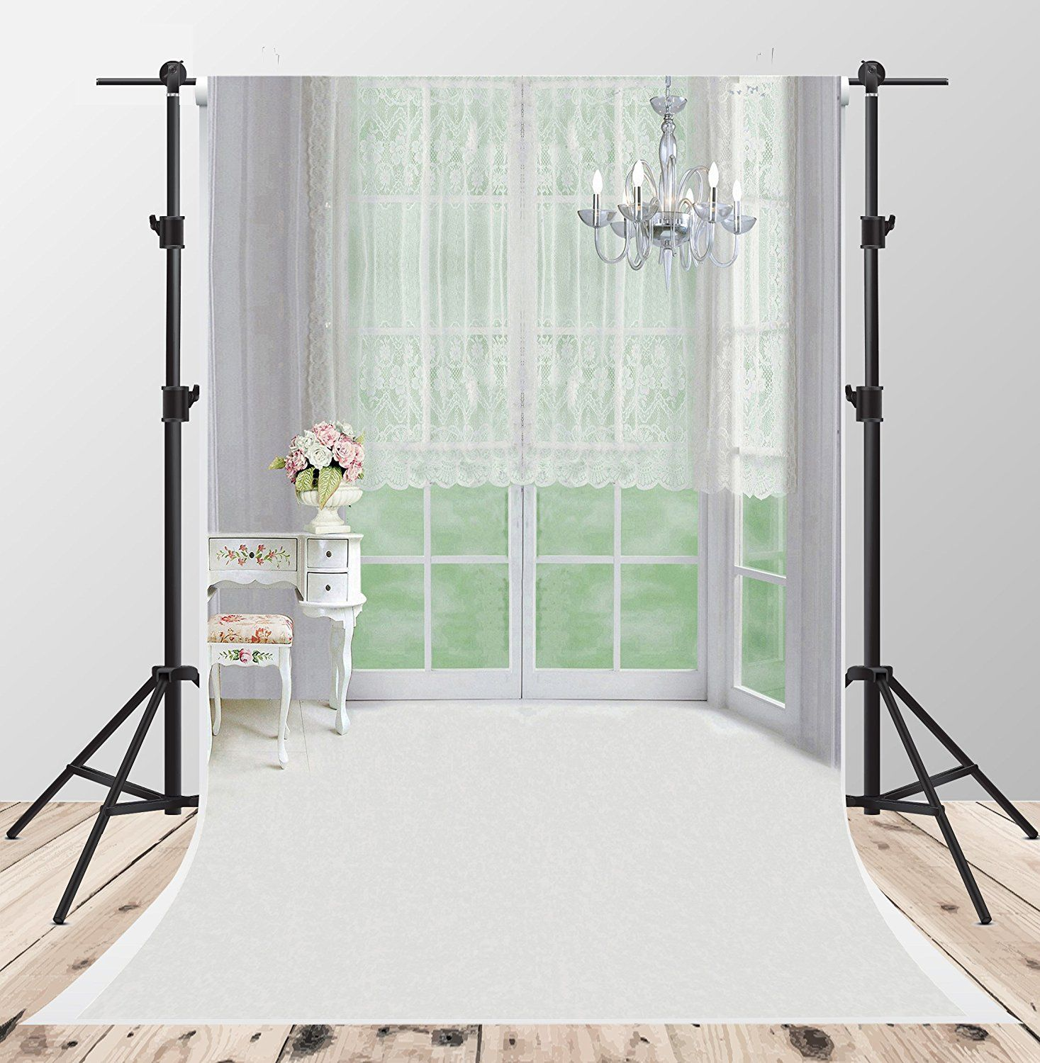 Kate 10x6.5ft Classical Headboard Backdrops for Photography Indoor Bedroom Newborn Photo Background