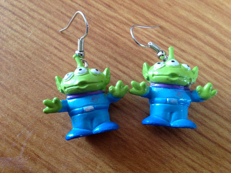 Disney Toy story alien earrings. £5.00
