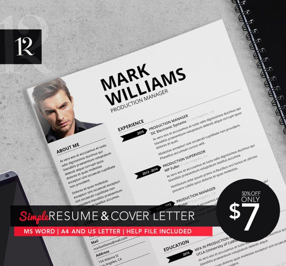 Creative Resume/CV TemplateCover Letter For MS Por