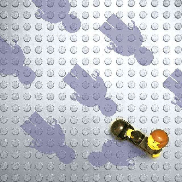 Muse - Absolution in Lego by savage^, via Flickr