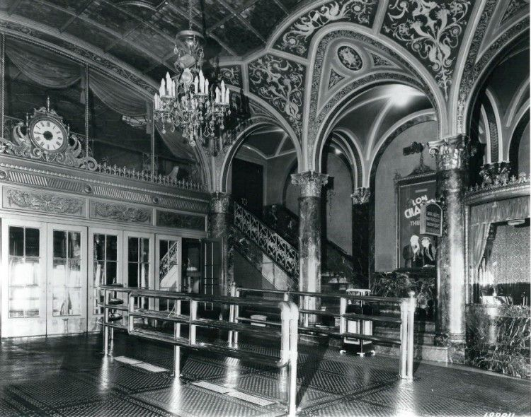 Detroit opera house old photos historic theater