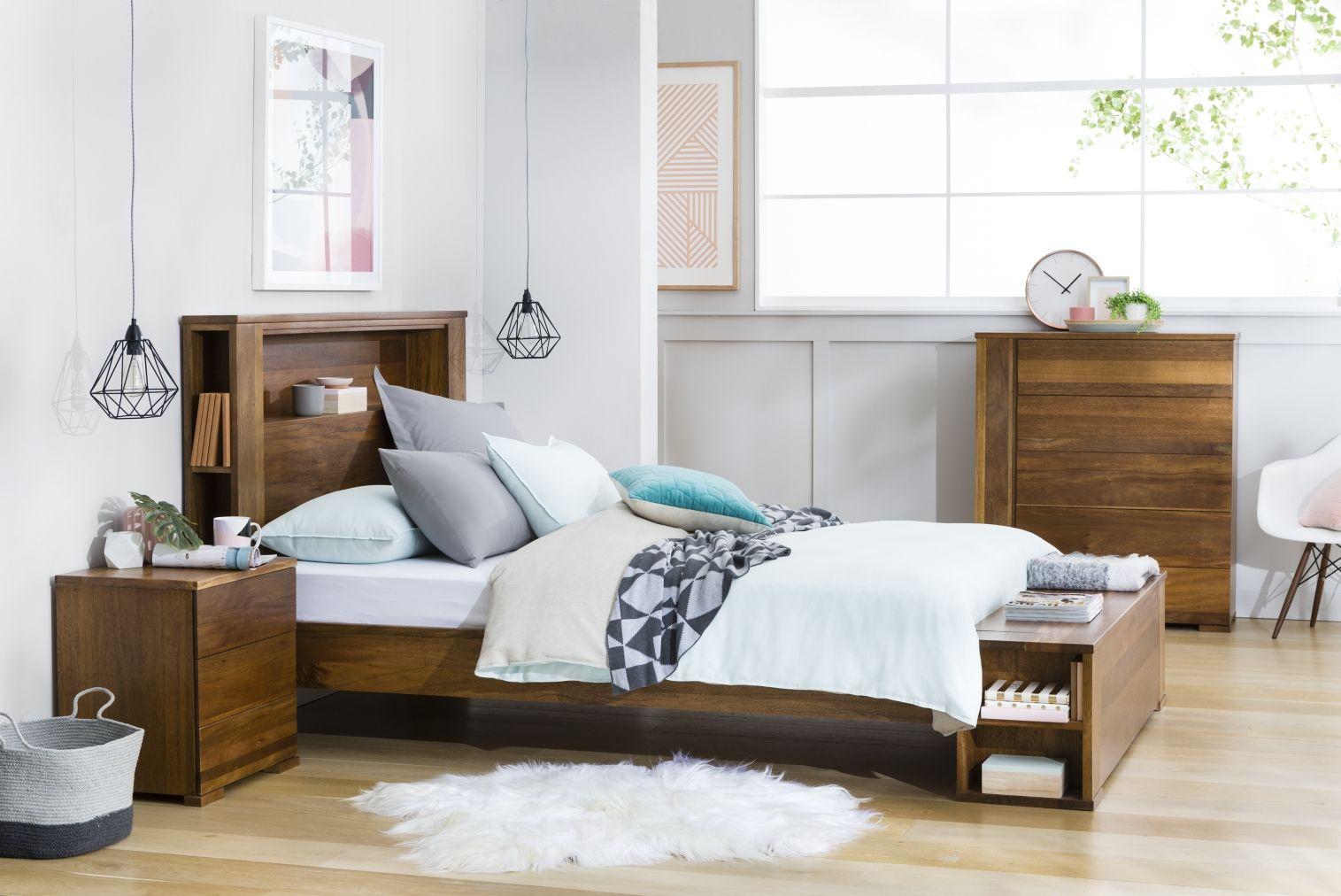 Yarra Bedside Table Bedroom Furniture Forty Winks Furniture Timber Bed Frames Bedroom Furniture