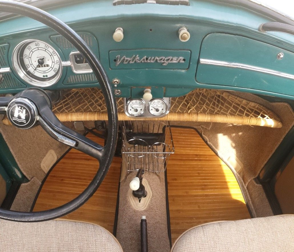 Bug Beetle Super Beetle Vw Bug Interior Volkswagen Karmann Ghia Volkswagen