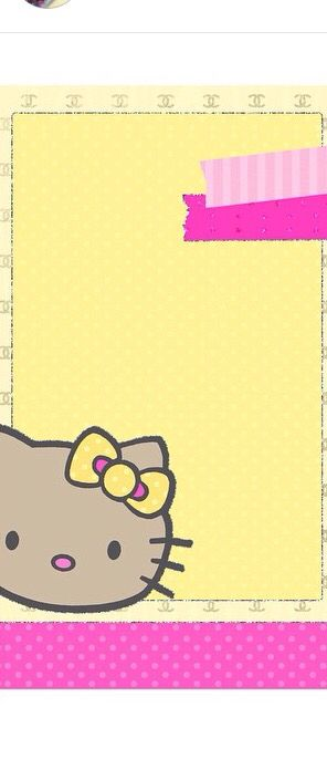 O Kitty Wallpaper Wallpaper Backgrounds Desktop Wallpapers Designer Wallpaper Girl Birthday Kawaii Stuff Notes Sunshine Android